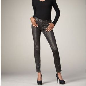 •7 For All Mankind• Metallic Snake Print Jeans